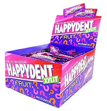 chicles happydent incognita