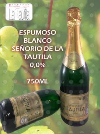 ESPUMOSO BLANCO VINO 0,0% 750ML