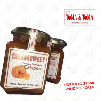 MERMELADA CALABAZA 270ML