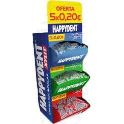 PACK HAPPYDENT 3 SABORES 5X0.20€ 600CHICLES