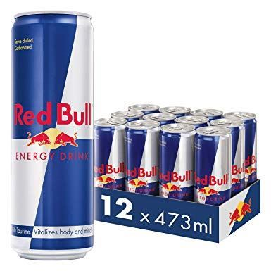 RED BULL 12UD 473ML ENERGÉTICA  FORMATO XXL